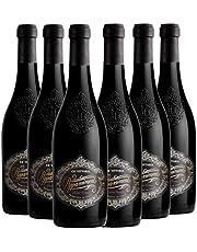 CA' VITTORIA Appassimento Rosso Puglia IGT, Vino Rosso, Ottimo Vino per Carni Arrostite e con Piatti di Selvaggina come Cinghiale e Cervo, 6 x 750 ml, Made in Italy, 14,5% Vol