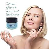 Gesichtscreme Feuchtigkeitscreme mit 24 % Eselsmilch, Coenzym Q10 und Aloe Vera 1er Pack (1 x 50 ml Glas) - Anti Aging Eselmilch Creme Faltencreme Kosmetik Beauty