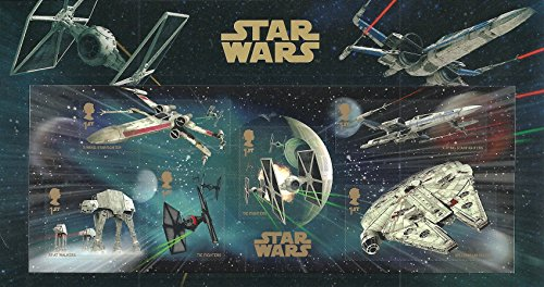 2015 Star Wars - Sábana para miniatrura con diseño de sello