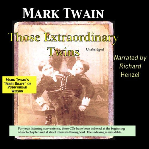 Those Extraordinary Twins audiobook cover art