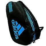 Adidas - Sacca per racchette Control 2018, colore nero / blu