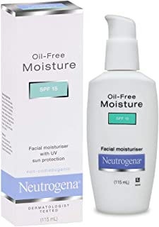 Neutrogena Oil Free Facial Moisturiser, SPF 15, 115ml