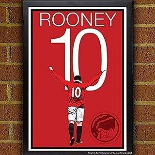 Rooney Poster - Manchester United Art