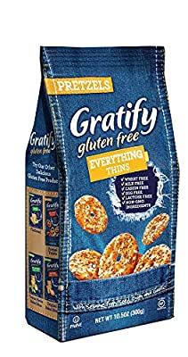 Gratify Gluten Free Pretzel Thins