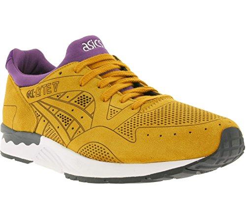 Asics Gel-Lyte V Laser Cut Pack Unisex Sneaker Farbe: Hellbraun/Lila (7171); Größe: EUR 45.5 | US 12 | UK 11