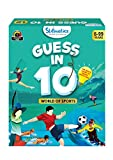 Skillmatics Guess in 10 : World of Sports (Ages 6-99) | Card Game of Smart Questions | General...