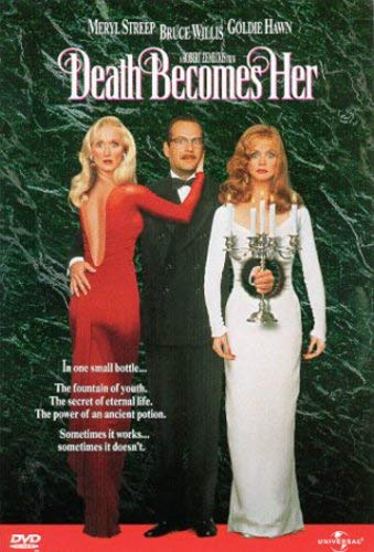 DEATH BECOMES HER DVD FF