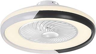 VISLONE Plafondventilator met verlichting, led-licht en afstandsbediening, 3-kleuren-licht, 3-versnellingen, instelbare pl...