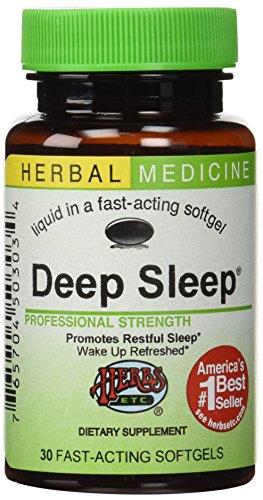 Herbs Etc, Deep Sleep, 30 Softgels