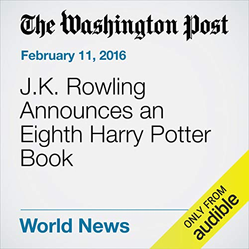 J.K. Rowling Announces an Eighth Harry Potter Book cover art