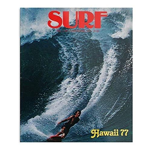 Vintage Surfing – El póster de decoración de interior m�