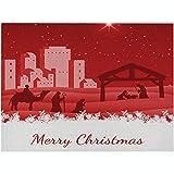 4 Pezzi Tovagliette Natalizie, Tovagliette Americana Lavabili Per La Festa Di Natale Decorazione Invernale Per La Cena Di Nozze,H