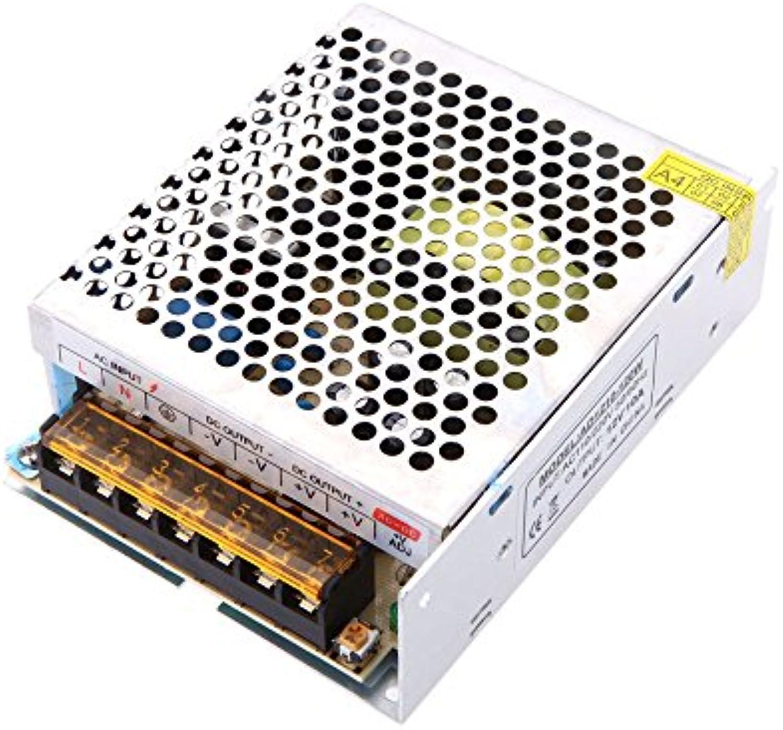 Docooler Spannungswandler Schalter Spg.Versorgungsteil für LED Streifen, AC 110V 220V to DC 12V 10A 120W