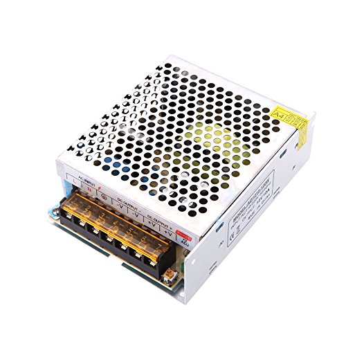 Docooler Spannungswandler Schalter Spg.Versorgungsteil für LED Streifen, AC 110V/220V to DC 12V 10A 120W
