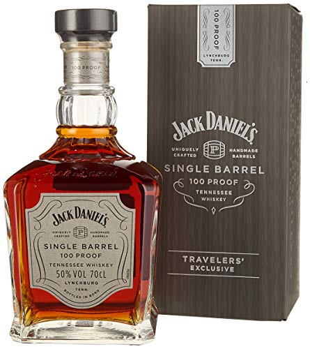 Jack Daniel's Single Barrel 100 Proof Limited Edition Whisky mit Geschenkverpackung (1 x 0.7 l)