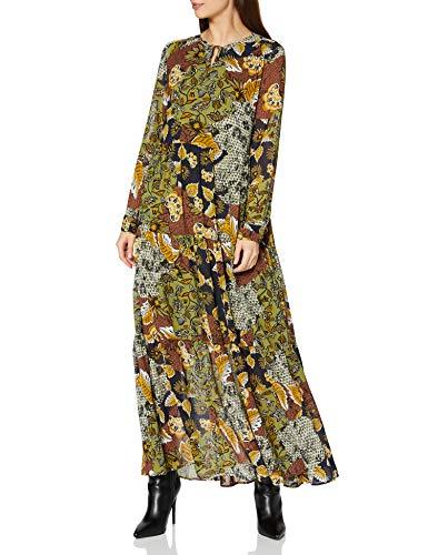 ESPRIT Damen 070EE1E307 Kleid, 363/OLIVE 4, 34