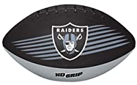 Rawlings NFL Oakland Raiders NFL Downfield Football (All Team Options), Black, Youth