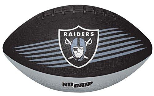 NFL Oakland Raiders 07731072111NFL Downfield Football (alle Team-Optionen), Schwarz, Youth