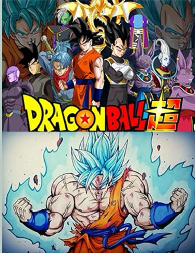 Dragon Ball Z: Coloring Book Manga Coloring Book With 48 Character Illustrations. Great Coloring Book For Adults or Kids