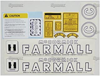 farmall c decals