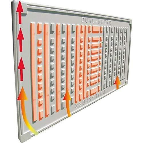 BioMetrixx PN500TL Digitale Design Infrarot Handtuchheizung 500 Watt W 240 V 25 x 100 cm kaufen  Bild 1*