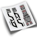 Pegatinas Horquilla ROCKSHOX SID Select Plus 2020 WP363 Negro