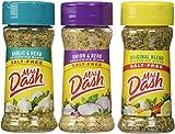 Mrs. Dash Combo All Natural Seasoning Blends 2.5 oz; Original,Onion&Herb,Garlic&Herb by Mrs. Dash