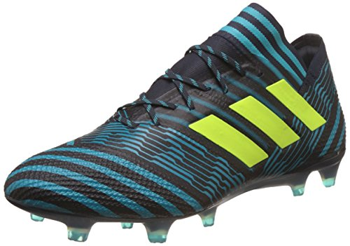 adidas Nemeziz 17.1 Fg, Botas de Fútbol para Hombre, Multicolor (Tinley/Amasol/Azuene), 44 EU