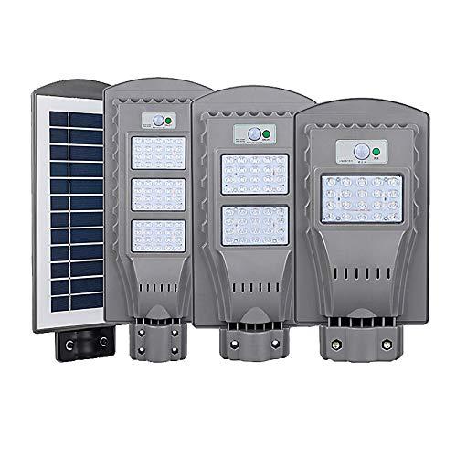 Lampes solaires à LED 20 W 40 W 60 W Éclairage extérieur Détecteur de mouvement Étanche Jardin pour chemin Mural Smart Lampe solaire LED, blanc, 40W