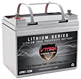 VMAX LFPU1-1230 Li-Iron LiFePO4 12V 30AH Lithium Battery 385Wh w/BMS Deep Cycle Battery for Surveillance and Scientific Instrumentation