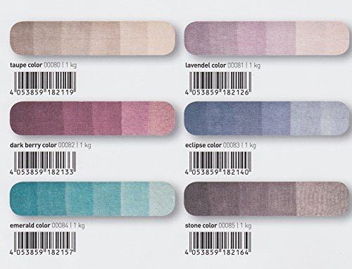 NEUHEIT 2016!!! 100g Schachenmayr Ombre Lace - Farbe 085 stone color - Feines Lacegarn mit Alpaka- und Wollanteil - Ein Knäuel ergibt einen Schal!