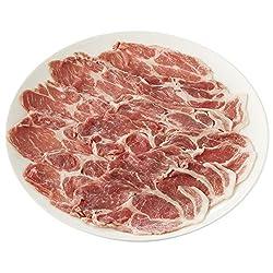 [冷蔵] 国産 豚肩ロース うすぎり(しゃぶしゃぶ、炒め物用) 200g