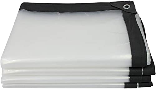 AJZXHE Plan Transparente Bache extérieure imperméable bache imperméable Transparente avec auvent de Joint de Tente de Tissu imperméable de Trou auvent auvent Tissu imperméable épaissi