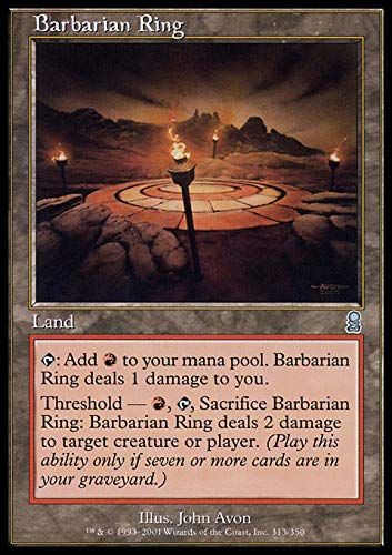 Magic the Gathering - Barbarian Ring - Ring dei Barbari - Odyssey