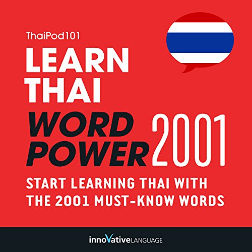 Learn Thai - Word Power 2001 audiobook cover art