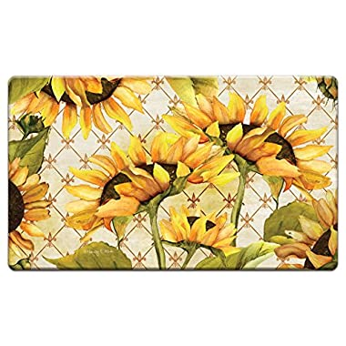 Counter Art 'Sunflowers in Bloom' Anti Fatigue Floor Mat, 30 x 20