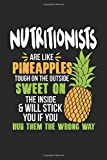 Nutritionists Are Like Pineapples. Tough On The Outside Sweet On The Inside: Ernährungsberater...