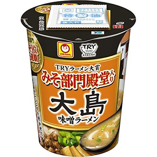マルちゃん 大島 味噌ラーメン 111g ×12個