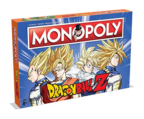puissant MONOPOLY DRAGON BALL Z-Board Game-Version française