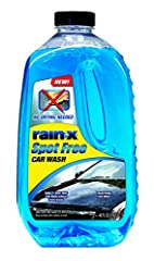 Deep cleaning high foam soap cuts through dirt No spots after water evaporates; no towel drying necessary Spot-free formula sheens water off vehicle Leaves a bright shine on the vehicle Concentrated formula