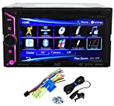 JVC KW-V20BT 2 Din Bluetooth Car DVD Receiver 6.1' Monitor w Android/iPhone Apps
