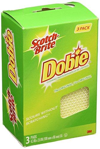 Scotch-Brite 3PK Dobie Cleaning Pad