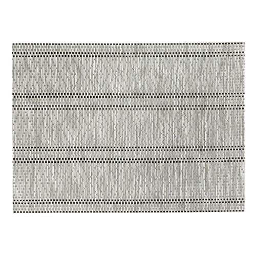 Winkler - Set de table Panama – 33x45 cm – Napperon rectangle – Facile à nettoyer - Résistant et déperlant – Tissage jacquard élégant