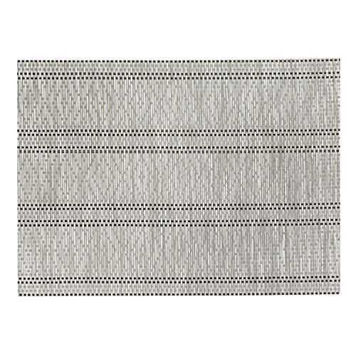 Winkler - Set de table Panama – 33x45 cm – Napperon rectangle – Facile à nettoyer - Résistant et déperlant – Tissage jacquard élégant