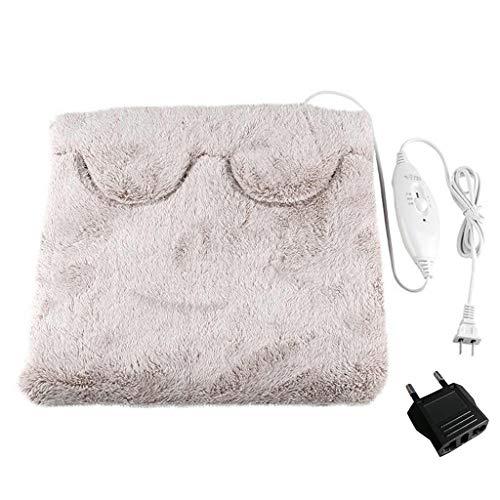 Anliyou Beheizbar Waschbar Hausschuhe Fußwärmer Elektrische Multifunktionale Schuhe Kissen Stuhlkissen Decke Handschuhe für Kinder Damen