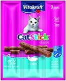 Vitakraft Cat Stick Lachs MSC, 3ST, KA, 20er Pack (20 x 17 g)