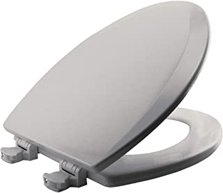 BEMIS 1500EC 062 Toilet Seat with Easy Clean & Change Hinges, ELONGATED, Durable..