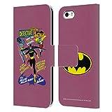 Head Case Designs Licenciado Oficialmente Batman DC Comics Detective Comics 359 Fundas de cómics Famosas Carcasa de Cuero Tipo Libro Compatible con Apple iPhone 5 / iPhone 5s / iPhone SE 2016