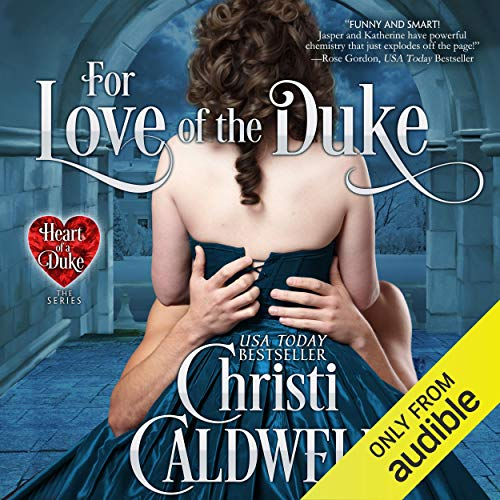 For Love of the Duke audiobook cover art