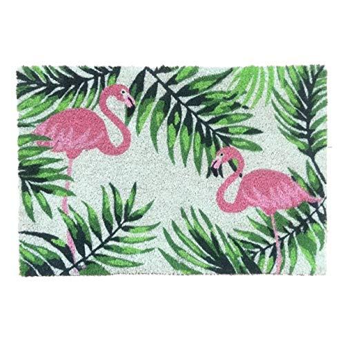 Vidal Regalos Felpudo Antideslizante Flamingos 70x40 cm